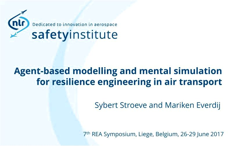 Agent-Based Modelling and Mental Simulation for Resilience Engineering in Air Transport within the agent-based