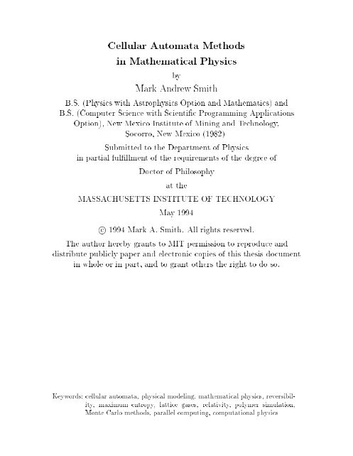 Cellular Automata Theory and Physics: A brand new Paradigm for that Unification of Physics