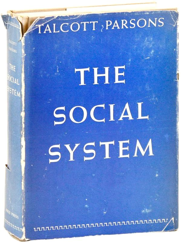 The social system. (Book, 1951)